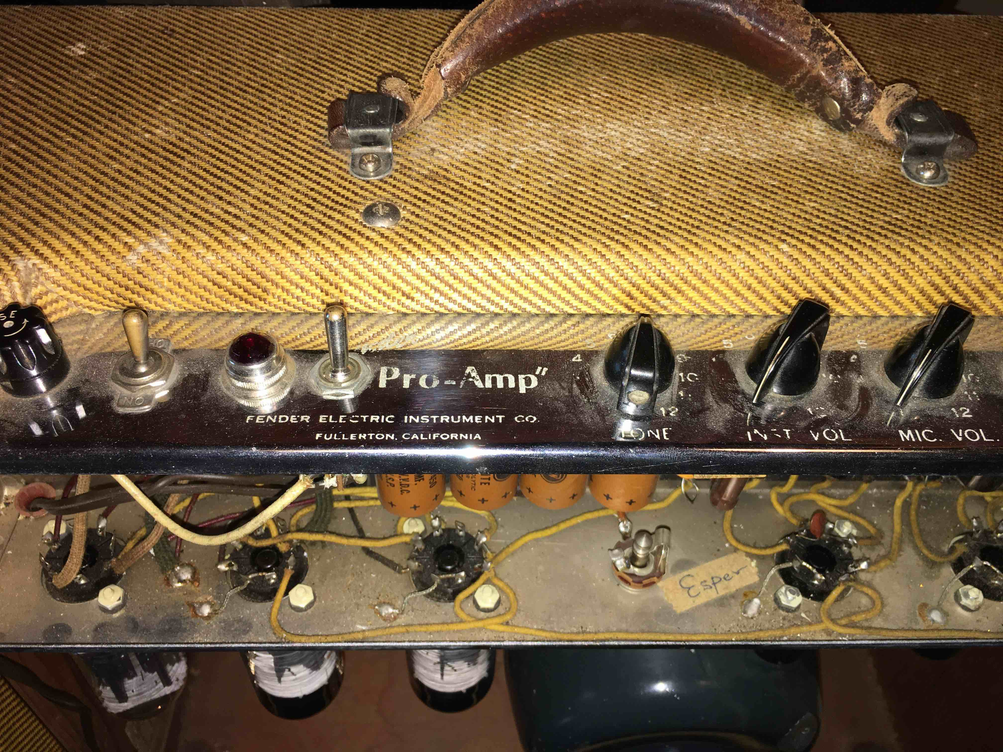 54 Pro Keiths Amp On Blue Lonesome The Gear Page