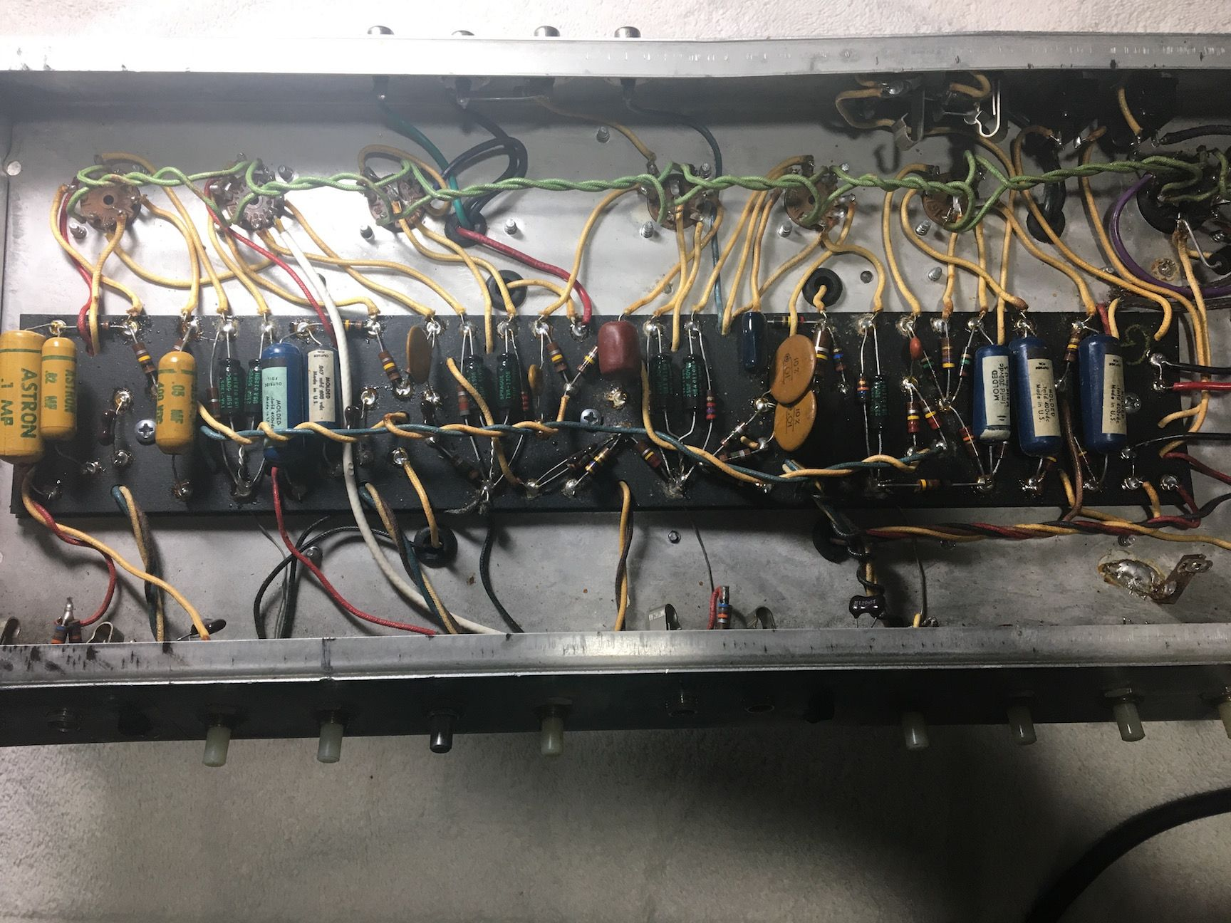 Fender Reverb Wire Diagram Electrical Wiring Diagrams Amp Twin Schematic Settings 68 Ab763 The Gear