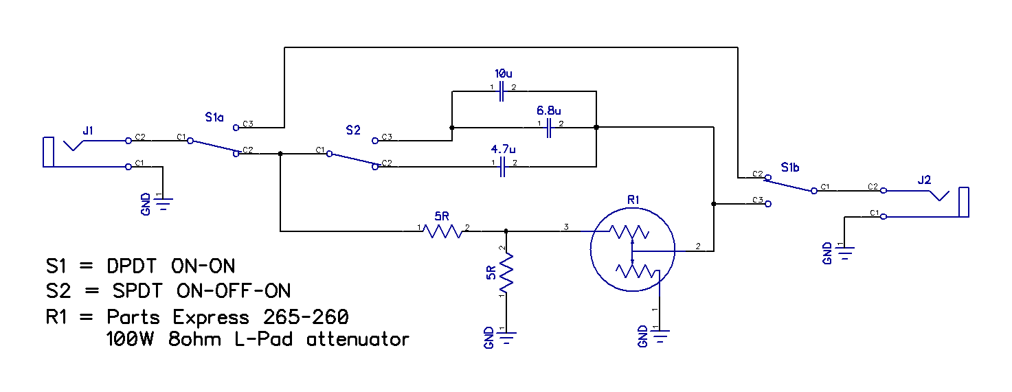 Attenuator Schematic | The Gear PageThe Gear Page