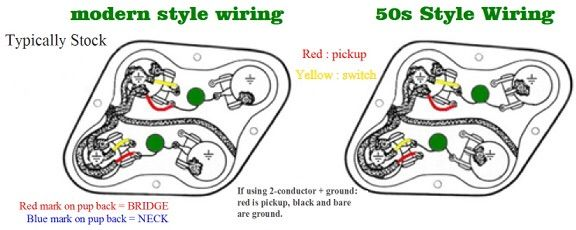 1950s les paul wiring diagram why 50 s wiring on les paul  the gear page  why 50 s wiring on les paul  the gear