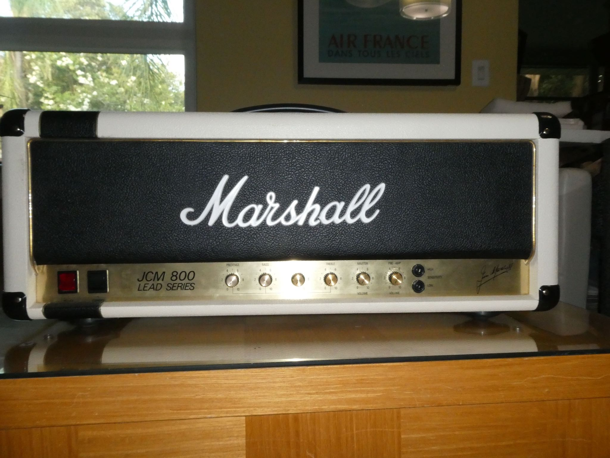 cheap for discount 6d8fb 2d801 Marshall Custom Shop JCM800-1 | The Gear Page