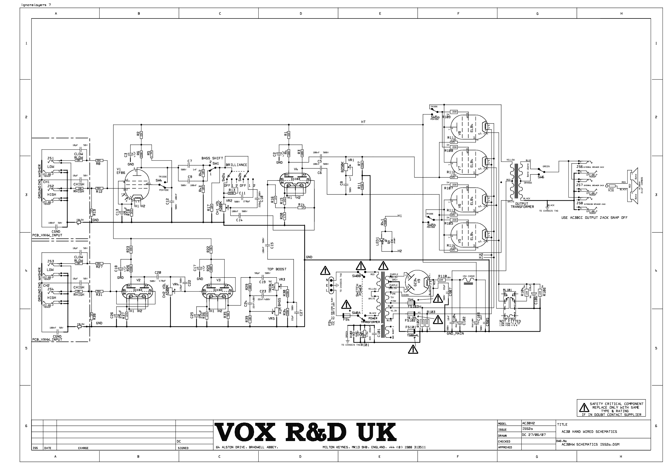 Vox Ac30h2 Heritage Farting Channel 2 The Gear Page Click Here For A Pdf Version Of Theschematic Just In Case This Is Any Way Helpful Link To Service Manual And Below Schematic Taken From That